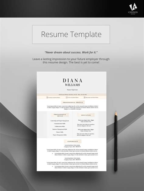 17 best images about resume templates on pinterest keep
