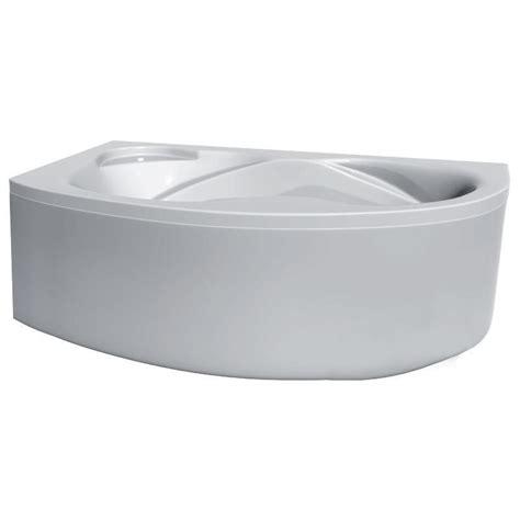 curved bathtub left hand 1500 x 1000 bathroom acrylic corner bathtub