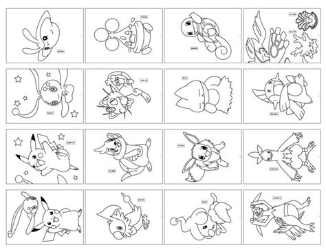 pokemon cards coloring pages color pages printables