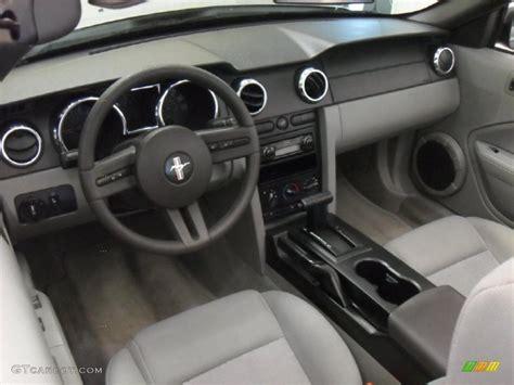 light graphite interior  ford mustang  deluxe convertible photo  gtcarlotcom