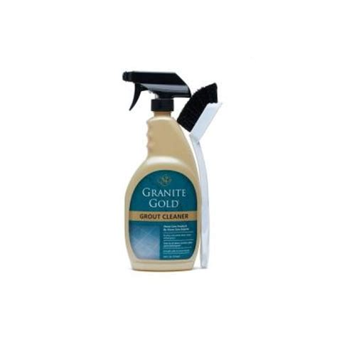 granite gold 24 oz grout cleaner with brush