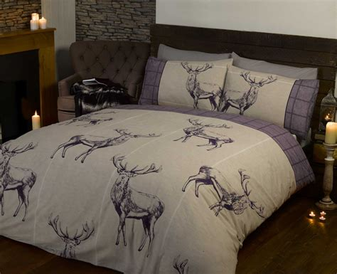 stag duvet cover pillowcase quilt cover bedding bed sets