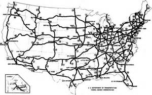 map us highways system the dwight d eisenhower system of interstate and defense