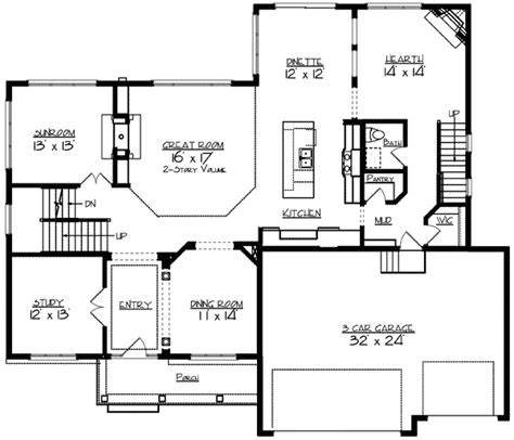 dual master suites plus loft 15801ge architectural two story great room 73317hs 2nd floor master suite