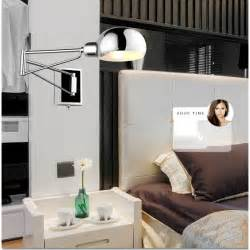 Bedroom Reading Lights Wall Mounted Aliexpress Buy Free Shipping Bedroom Modern Wall L Swing Arm Wall Sconce Bedside Wall