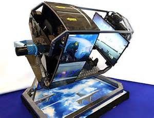 Cockpit Gaming Chair Motion Simulator Wikipedia