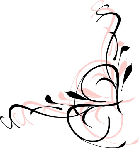 flower swirl tattoo designs swirl flower designs clipart best