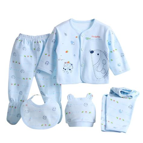 Baby S Clothes Baju Atasan Bayi Newborn Unisex 5 pcs set newborn baby clothing sets baby boy clothes 100 cotton sets in