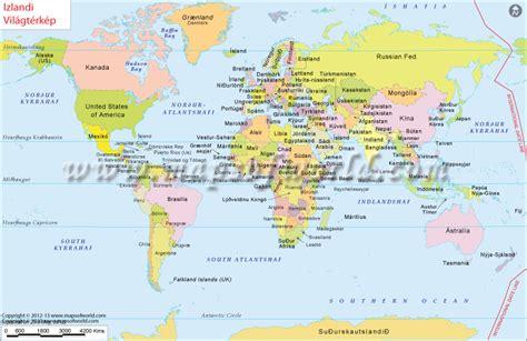 heimskort world map  hungarian