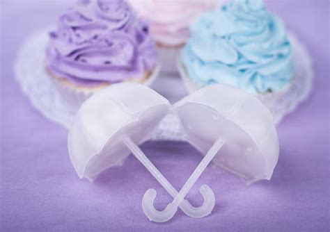 Umbrella Giveaways - frosted white umbrella favors bridal shower party special occasions