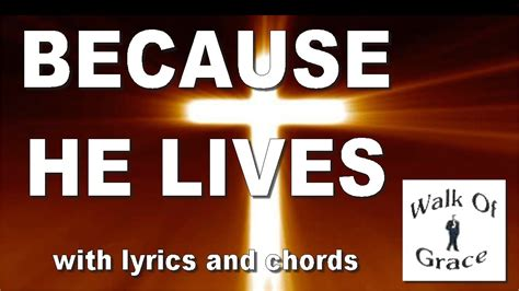 lives  lyrics  chords great easter song youtube
