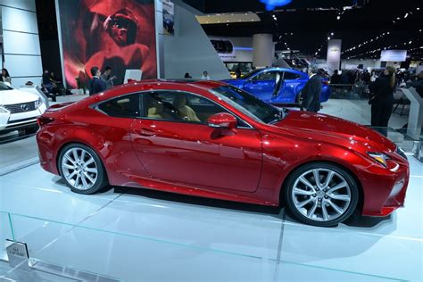 Recent Rc 350 new lexus rc 350 shows its paint at detroit