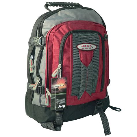 Jeep Backpack Bag Jeep 17 16 15 Quot Inch Laptop Travel Backpack Rucksack Cabin