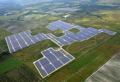 fpl florida power light four new solar plants to deliver clean cost effective