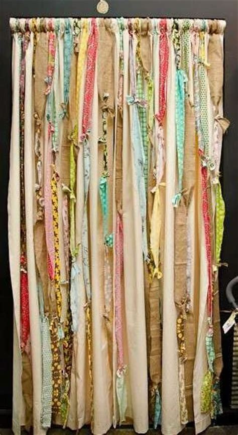 fabric strip curtains 10 ways to make your home magical barnrum house och