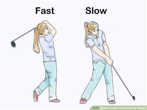 how to improve golf swing how to improve golf swing tempo 10 steps with pictures