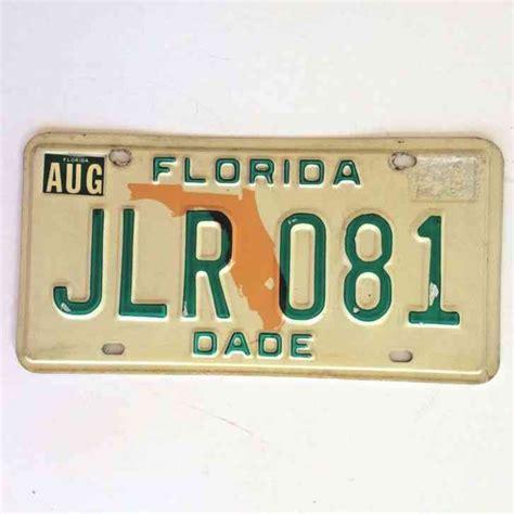 1975 Florida License Plate