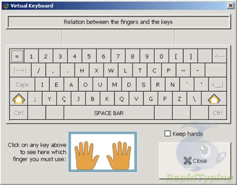 tutorial on keyboard typing typing tutor free hrant