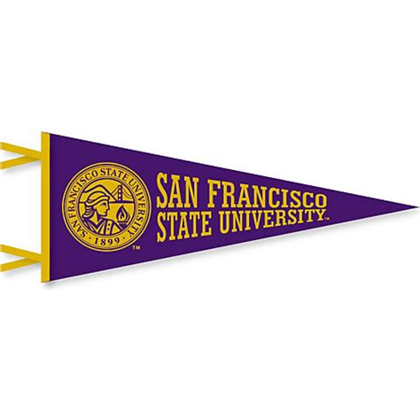 san francisco state university 12'' x 30'' pennant | san