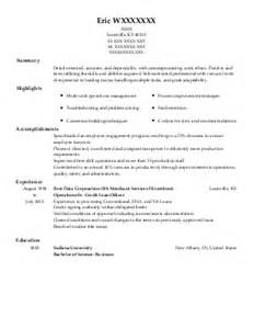 loan officer assistant loan processor resume exle real