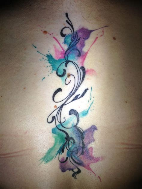 watercolor tattoo music 25 best ideas about watercolor on