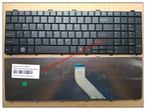 Keyboard Laptop Fujitsu Ah531 original new for fujitsu lifebook a530 ah530 ah531 nh751 us version black notebook laptop