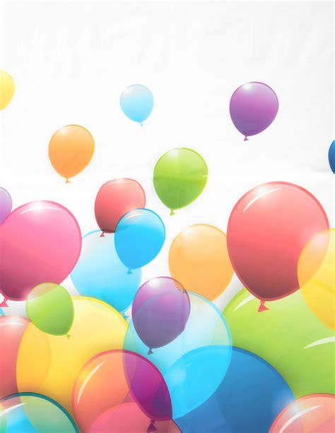 palloncini volanti tovaglia di plastica con palloncini volanti su vegaooparty