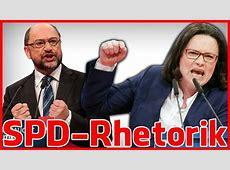 Die Rhetorik der SPD-Parteitags - Reden von Andrea Nahles ... Kevin Kühnert