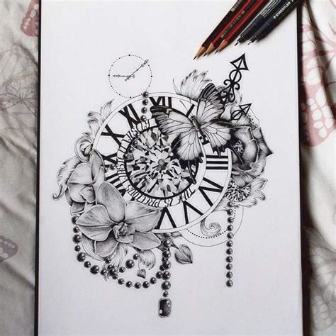 about time tattoo 17 best ideas about clock tattoos on time