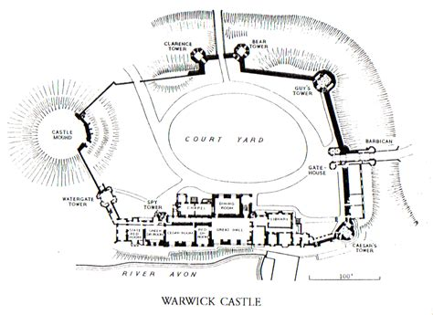 warwick castle floor plan warwick castle and the town evelyn wallace the castle lady