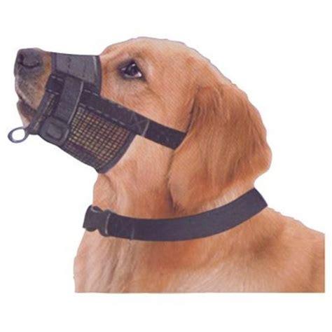 canine care adjustable mesh muzzle size 2m