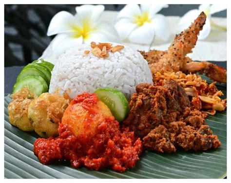 indonesian medan food nasi lemak medan nasi gurih