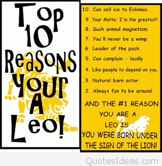 Leo To Be A by Leo Quotes