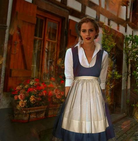 emma watson di film beauty and the beast 10 beautiful pictures of emma watson as belle in