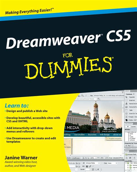 dreamweaver cs5 tutorial open browser window behavior cover