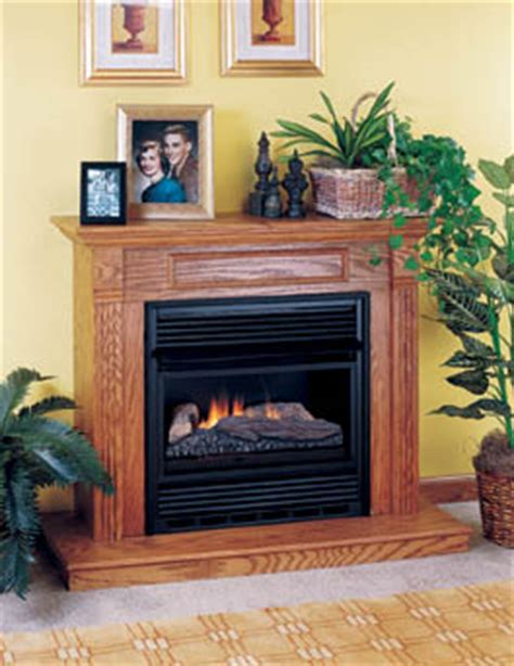 comfort glow vent free fireplace brookhill compact