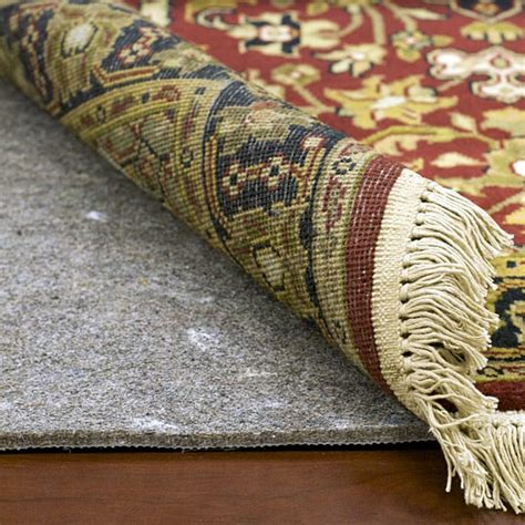 padding for rugs superior surface and carpet rug pad 8 x 10 free shipping today overstock 10862046