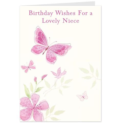 Birthday Cards For A Niece Birthday Wishes For A Niece F F Info 2017