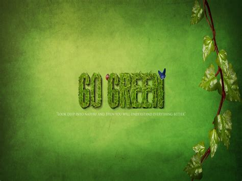 wallpaper go green quotes on a green background quotesgram