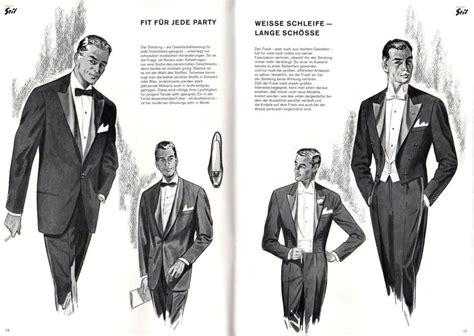 drawings of 1950 boy s hairstyles mad men formal german style part i black tie blog