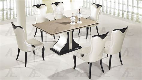 black and white marble top dining table shop for