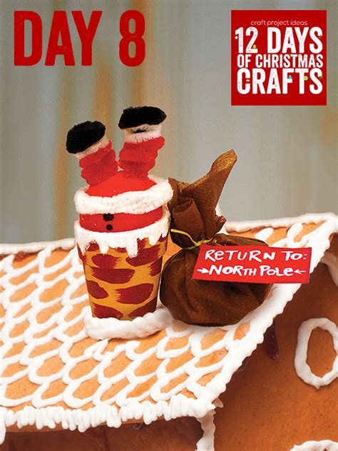 12 days of christmas crafts day 8 craft project ideas