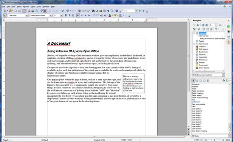 apache openoffice 4 0 review new features easier to use