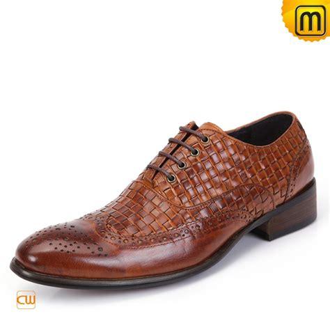 brogues shoes mens designer lace up brogues shoes brown cw761131