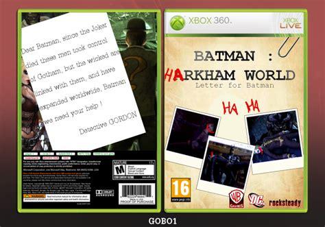 Batman Arkham World batman arkham world xbox 360 box cover by gobo1