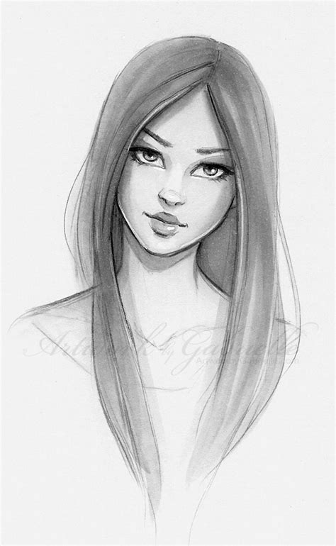 best 25 drawing hair ideas on pinterest hair sketch pictures best beautiful girl sketch drawing art gallery
