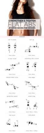 flat abs workout for