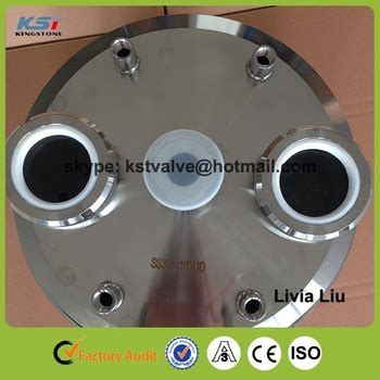 Sanitary Ss304 Dia 6 Inch sanitary ss304 tri cl customized cap 12 inch with spools and npt fittings buy tri cl