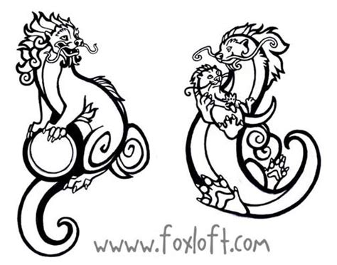 tribal otter tattoo guardian otter tattoos by foxfeather248 on deviantart