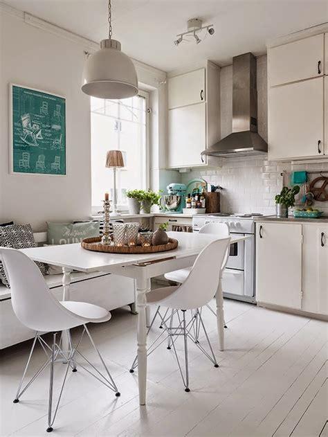 decoracion facil pequena cocina multi espacios  guinos
